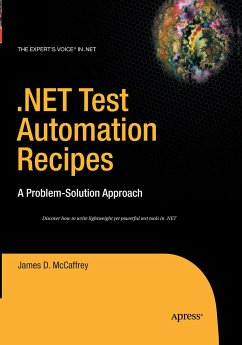 .NET Test Automation Recipes - McCaffrey, James