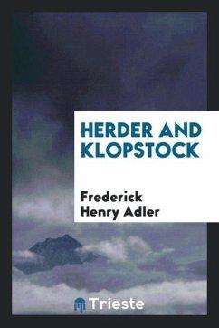 Herder and Klopstock