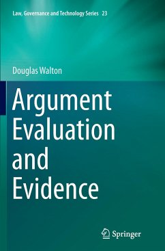 Argument Evaluation and Evidence - Walton, Douglas
