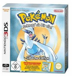 3DS Pokémon Silber (Code in a box)