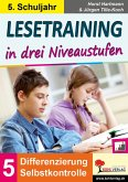 Lesetraining in drei Niveaustufen / Klasse 5 (eBook, PDF)