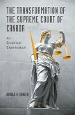 The Transformation of the Supreme Court of Canada (eBook, PDF)