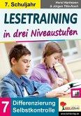 Lesetraining in drei Niveaustufen / Klasse 7 (eBook, PDF)