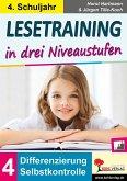 Lesetraining in drei Niveaustufen / Klasse 4 (eBook, PDF)