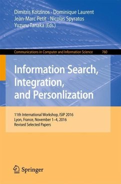 Information Search, Integration, and Personliza...