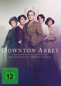 Downton Abbey - Staffel 2 DVD-Box - Smith,Maggie/Bonneville,Hugh/Mcgovern,Elizabeth