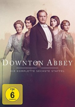 Downton Abbey - Staffel 6 DVD-Box - Smith,Maggie/Bonneville,Hugh/Mcgovern,Elizabeth