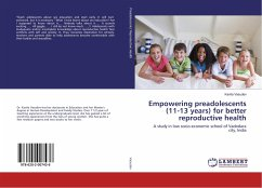 Empowering preadolescents (11-13 years) for better reproductive health