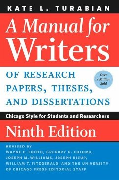 Manual for Writers of Research Papers, Theses, ...