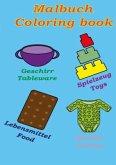 Malbuch-Coloring book