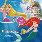 Arielle, die Meerjungfrau / Rapunzel - Neu verföhnt, 4 Audio-CDs
