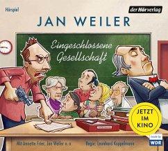 Eingeschlossene Gesellschaft, 2 Audio-CDS - Weiler, Jan