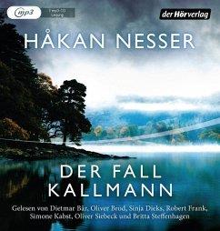 Der Fall Kallmann, 1 MP3-CD - Nesser, Hakan