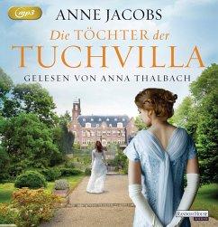 Die Töchter der Tuchvilla / Tuchvilla Bd.2 (2 Teile, MP3-CD) - Jacobs, Anne
