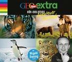 GEOlino extra Hör-Bibliothek - Abenteuer Tierreich, 4 Audio-CDs