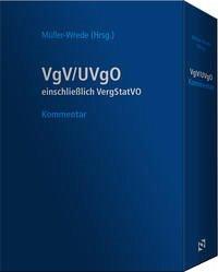 VgV / UVgO - Kommentar (Schmuckausgabe in Lederoptik im Schuber)