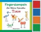 Fingerstempeln für kleine Künstler-Set - Tiere