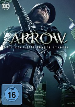 Arrow - Staffel 05 DVD-Box - Stephen Amell,David Ramsey,Willa Holland
