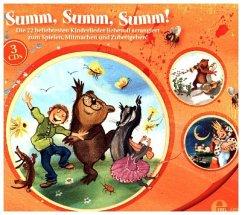 Summ, summ, summ!, 3 Audio-CDs