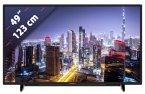Grundig 49 VLX 7710 BP schwarz 123 cm (49 Zoll) Fernseher (4K / Ultra HD, DVB-T2/ DVB-S2/ DVB-C, Smart TV)