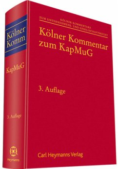 Kölner Kommentar zum Kapitalmusterverfahrensges...