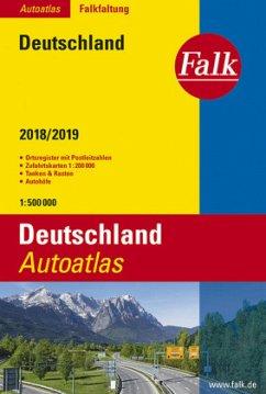 Falk Autoatlas Falkfaltung Deutschland 2018/201...