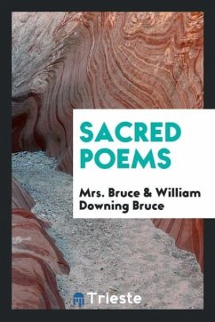 9780649315581 - Bruce, Mrs.; Bruce, William Downing: Sacred poems - کتاب