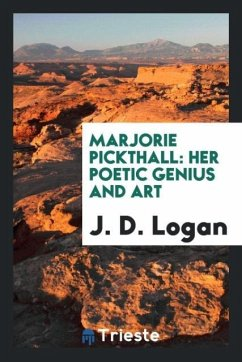 9780649315338 - Logan, J. D.: Marjorie Pickthall - Book