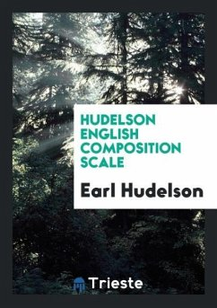 9780649315734 - Hudelson, Earl: Hudelson English Composition Scale - Book