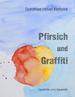 Pfirsich und Graffiti