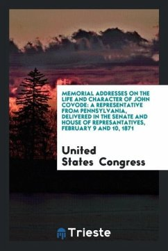 9780649282104 - Congress, United States: Memorial Addresses on the Life and Character of John Covode - Livro