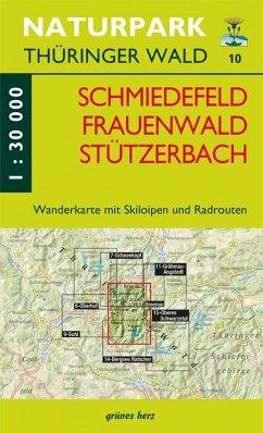 Wanderkarte Schmiedefeld/Frauenwald/Stützerbach