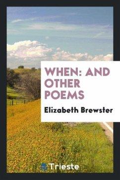 9780649315062 - Brewster, Elizabeth: When - كتاب