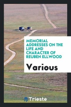 9780649290970 - Various: Memorial Addresses on the Life and Character of Reuben Ellwood - Livro