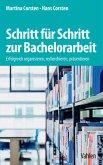 Schritt für Schritt zur Bachelorarbeit (eBook, PDF)
