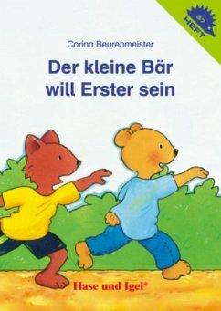 Der kleine Bär will Erster sein
