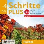 A2.2 - 2 Audio-CDs zum Kursbuch / Schritte plus Neu - Deutsch als Zweitsprache, Ausgabe Österreich .4