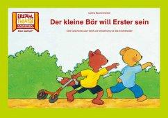 Kamishibai: Der kleine Bär will Erster sein
