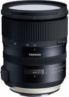 Tamron SP 2,8/24-70 Di VC C/AF USD G2 Zoom-Objektiv für Canon (82 mm Filtergewinde, Vollformat / APS-C Sensor)