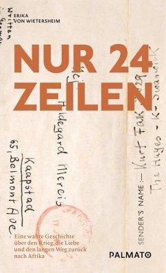 Nur 24 Zeilen (eBook, ePUB) - Wietersheim, Erika von