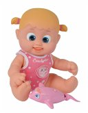 Simba 105143214 - Bouncin Babies Bonny Schwimmt mit Delfin, 35 cm, Puppe