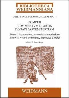 9783615004298 - Pompeius: Pompeii Commentum in Artis Donati partem tertiam, a cura di Anna Zago - Libro