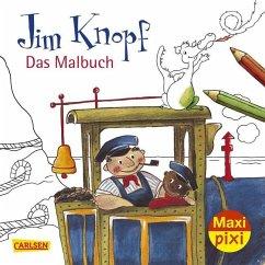 Jim Knopf - Das Malbuch - Ende, Michael; Dölling, Beate