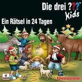 Die drei ??? Kids - Ein Rätsel in 24 Tagen, 3 Audio-CDs