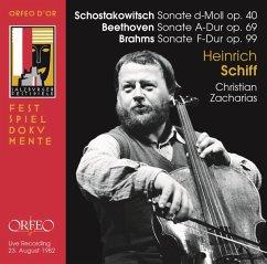 Sonaten Für Cello Und Klavier - Schiff,Heinrich/Zacharias,Christian