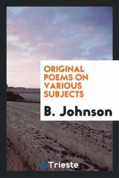 9780649382996 - Johnson, B.: Original poems on various subjects - Libro