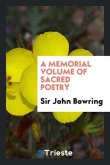 A Memorial Volume of Sacred Poetry
