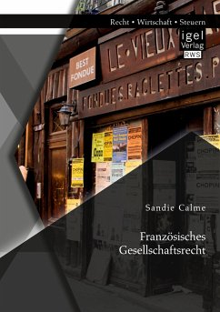 Französisches Gesellschaftsrecht - Calme, Sandie