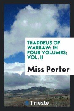 9780649382804 - Miss Porter: Thaddeus of Warsaw; in four volumes; Vol. II - Libro