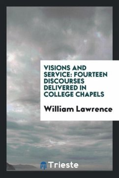 9780649363889 - Lawrence, William: Visions and service - Књига